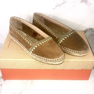 NEW CASTANER Espadrille Shoes Embroidered Trim